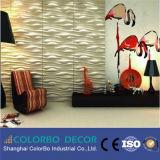 Панель материальной стены 3D украшения стены декоративная