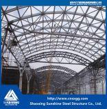 Construção de aço Salão com a grande extensão feita do fardo de aço