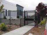 Maison décoratifs ISO9001 bon marché clôture en fer forgé/métal clôture en acier