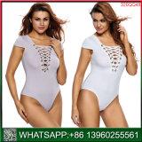 Ondergoed Van uitstekende kwaliteit van de Vrouwen Crotchless van China Lace-up
