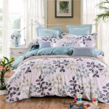 Preiswertes gedrucktes Baumwolschlafzimmer-Bettwäsche-Set