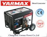 Usuário doméstico 4.5Kw Yarmax pequenas aplicações de conjuntos de geradores diesel portátil