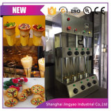 Quatre têtes commerciale Sweet Pizza Pizza Holding de la machine 2600W de puissance /cône parapluie Pizza / 110V/220V le matériel en acier inoxydable