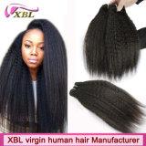 Волосы девственницы Xbl оптовой цены индийские Kinky прямые