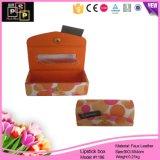 Imballaggio su ordinazione promozionale del contenitore di rossetto del cuoio di alta qualità di vendita calda del fornitore della Cina (1196)