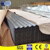 Покрынный цвет или гальванизировал польностью трудный Corrugated стальной лист толя
