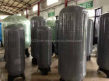 Depósito de presión de fibra de vidrio de PE para el ablandador de agua