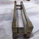 Maniglia personalizzata di tiro dell'acciaio inossidabile di disegno AISI304 con colore Bronze