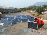 réverbère solaire moderne imperméable à l'eau en aluminium de 60W DEL