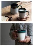Tazza di caffè di pietra della tazza del latte degli articoli 350ml con il marchio dell'azienda