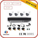 Kit 2017 del CCTV 4CH DVR della videocamera di sicurezza di CMOS 720p