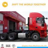 6*4駆動機構車輪および新しい条件のHongyan Genlyonのトラクターのトラック