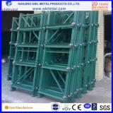 Industrie et défilement ligne par ligne métallique de tiroir de mémoire d'entrepôt d'usine/crémaillère de moulage
