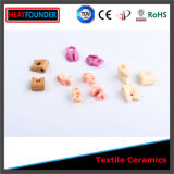 Glasig-glänzende Textilkeramische Garn-Führung
