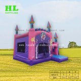 Elegante hotel Princess Fairy Safety Car Modelo Combo Bouncer insufláveis