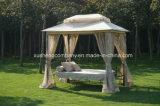 Balançoire de luxe avec double toit (peut être prolongée que lit)