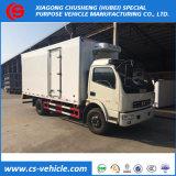 HOWO Isuzu 5tonne réfrigérés van de réfrigération de refroidissement de la boîte de Chargement camion