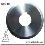 Tubo tubo circular da Faca do Cortador Guilhotinagem/Lâmina com Rolamento do Eixo do Eixo/bloco do munhão para dividir a máquina