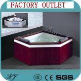 Wood antico Frame Big Size SPA Tub per Two People (719)