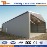 Hangar d'avions de structure métallique de coût bas avec la lucarne faite par l'usine de la Chine