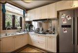 Gabinete de cozinha Home lustroso elevado de venda quente Yb1709216 da mobília 2017