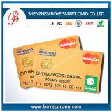 SGS에 의하여 승인되는 접촉 IC 칩 카드