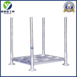 Post Heavy Duty Hot Galvanized Warehouse Pallet Rack / Steel Pallets