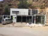 Materiales de construcción de la estructura de acero para la caravana