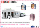 2016 Non-Woven une fois terminée la case Bag Making Machine Zx-Lt400
