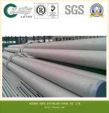 Tubo sin soldadura 316, 304, 321. del acero inoxidable de la buena calidad