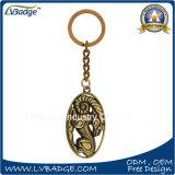 Förderndes Geschenk-Zink-Legierungs-Metall Keychain oder Metalschlüsselring