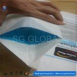 Bloco de tecido PP 50kg saco de cimento inferior com a impressão