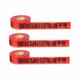 高品質BOPP/Al/PEの地下ケーブルの探索可能な警告または注意テープ