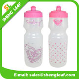 Botella de 500 ml de agua de plástico para la limpieza de botellas de agua transparente (SLF-WB013)