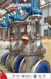 Soupape à vanne de chanfrein de cale de la norme ANSI 150lb d'acier inoxydable d'OEM