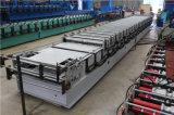 Doble capa PPGI Hoja de máquina de formación Panel Roofing