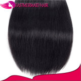 Естественные черные Unprocessed человеческие волосы девственницы Remy бразильские прямые