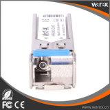 100Base-BX 1310nm Tx/1550nm Rx 80km BIDI SFP 송수신기