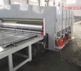 4 Farben-Wasser-Tinten-Karton-Drucken-kerbende Maschine