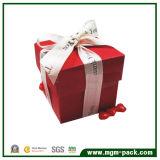 Rojo cuadrado exquisito chocolate de embalaje Caja de papel de regalo