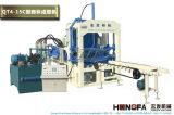 High Quality Low Price Cement Pavement Interlock Machine de fabrication de blocs de briques creuses (QT4-15C)