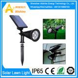 Het Licht van de Nacht van de Sensor van de waterdichte LEIDENE van het Gazon van de Tuin Zonne-energie van de Lamp