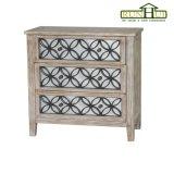 無作法な木製のホーム家具のアクセントミラーNightstand