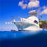 +-45 fibra de vidro 600GSM Multiaxial para navios do composto da infusão do vácuo