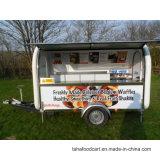 Carrello variopinto dell'alimento del caffè della via, camion mobile Vending dell'alimento