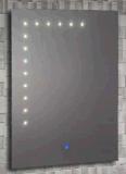 Espejo de clase superior del cuarto de baño LED del tacto de iluminación del diseño (LZ-015)