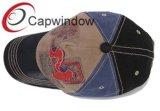 La tapa de Apertured de béisbol de la moda con bordados para Jóvenes