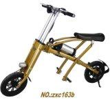Bike золотистой складчатости электрический/электрический складной велосипед