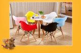 Mobiliário infantil colorido e de Plástico Eames Cadeira de refeições para crianças com braço de apoio