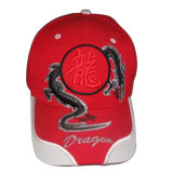 China bordados gorra de béisbol Gj1707